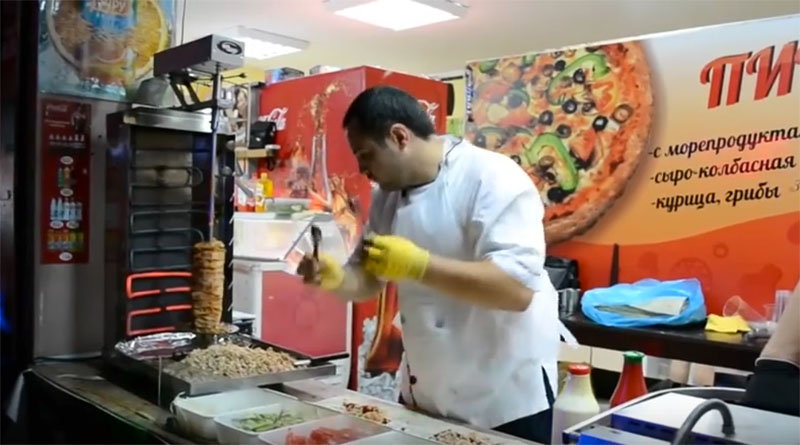 El kebab de la Fórmula 1